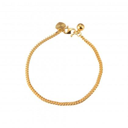 Sauh Machine Gold Bracelet, 916 Gold (6.00G) GW028