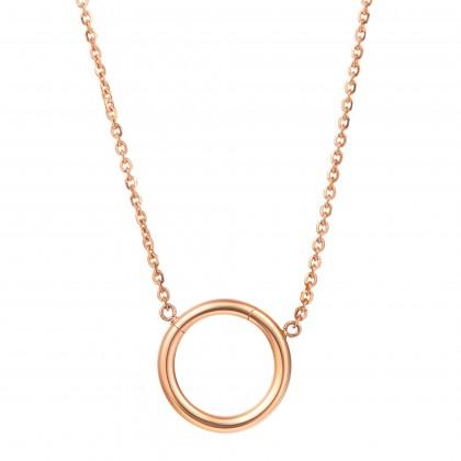 Oro Italia 916 Rose Gold Necklace (4.83G) GC25321220(R)