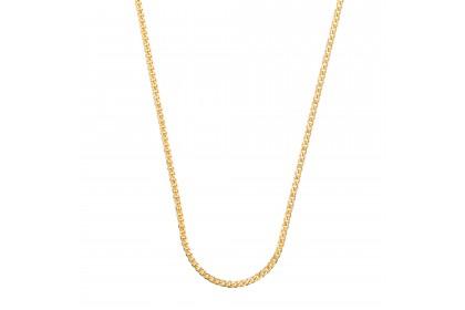 Oro Italia 916 White and Yellow Gold Necklace (12.57G) GC25100220-BI
