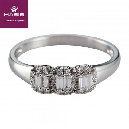 Alexi Diamond Ring in 375/9K White Gold 259020920