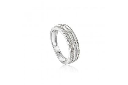 Ilargia White Gold Diamond Ring