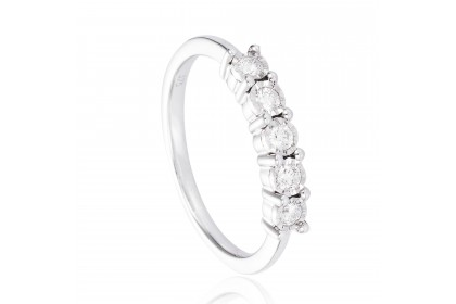 Alysha White Gold Diamond Ring