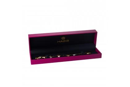 Oro Italia 916 Amore White, Yellow and Rose Gold Bracelet (6.72G) GW36861120-TI