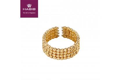 Oro Italia 916 Stella Yellow Gold Ring (5.07G) GR44200720