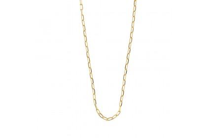 Oro Italia 916 Graffetta Yellow Gold Necklace (28.70G) GC24990220(Y)