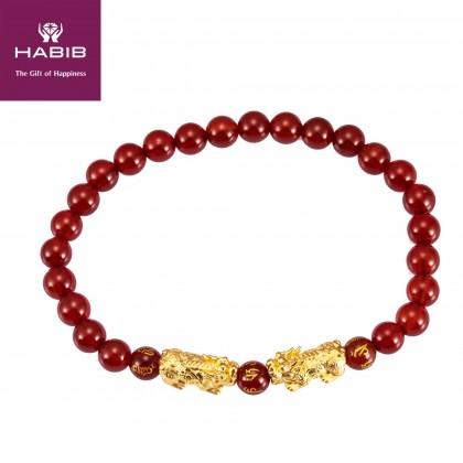 Geminus Pixiu Gemstone Bracelet