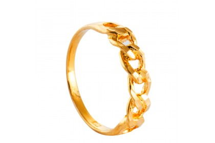 Yellow Gold Ring, 916 Gold (2.93G) RG1148