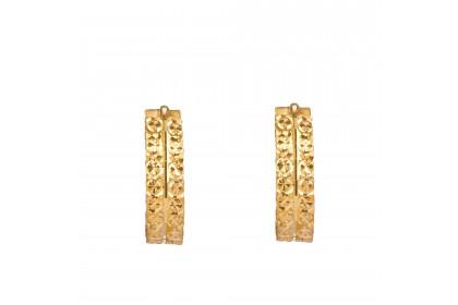 Oro Italia 916 Yellow Gold Earrings (2.09G) GE71200520