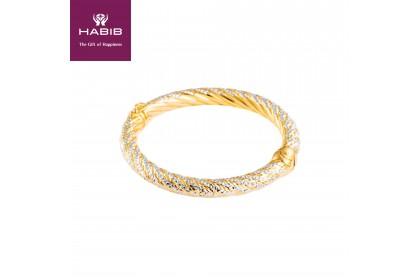 Anne Belle Gold Bangle 916 Gold (21.65g)