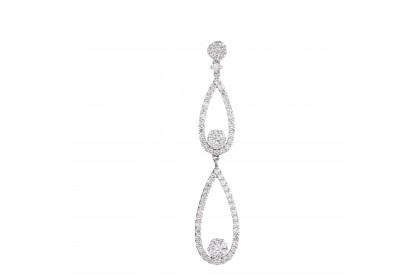 Adore Twila Diamond Pendant in 750/18K White Gold UP132