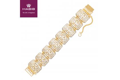 Bonnie Gold Bracelet, 916 Gold (65.1g)