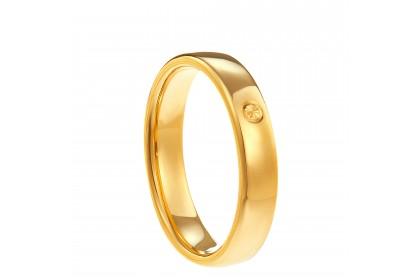 Oro Italia 916 Yellow Gold Ring (4.20G) GR4237