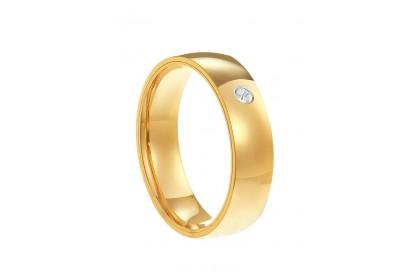 Oro Italia 916 White and Yellow Gold Ring (3.87G) GR44601220(5)-BI