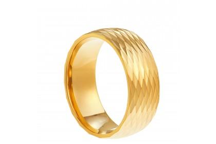 Oro Italia 916 Yellow Gold Ring (4.23G) GR4114
