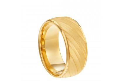 Oro Italia 916 Yellow Gold Ring (11.82G) GR4065