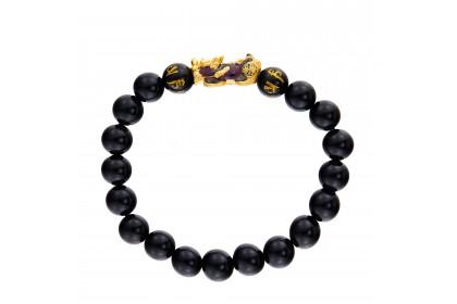 Pixiu Gemstone Bracelet in 999/24K Gold WWGB201