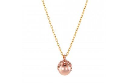 Oro Italia 916 Bon Bon Yellow and Rose Gold Necklace (5.13G) GC24950220(8YR)-BI