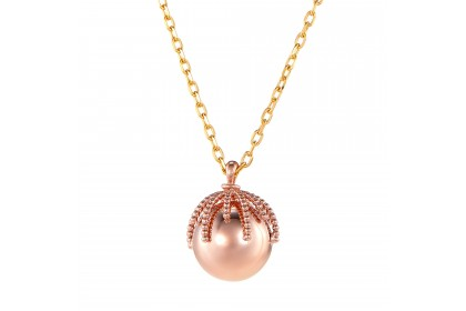 Oro Italia 916 Bon Bon Yellow and Rose Gold Necklace (5.86G) GC24950220(10YR)-BI