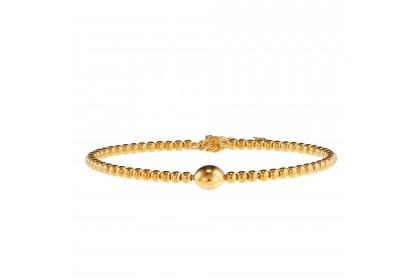 Oro Italia 916 Yellow Gold Bangle (6.86G) GB8594
