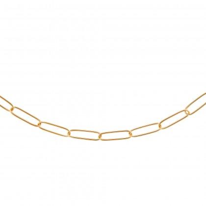 Oro Italia 916 Graffetta Yellow Gold Bracelet (5.48G) GW36971220