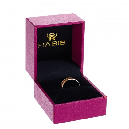 Mandy White and Yellow Gold Ring, 916 Gold (1.94G) R831(L)