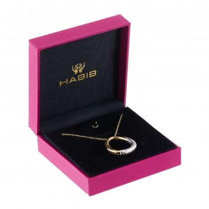 Oro Italia 916 White and Yellow Gold Necklace (6.51G) GC25710221-BI