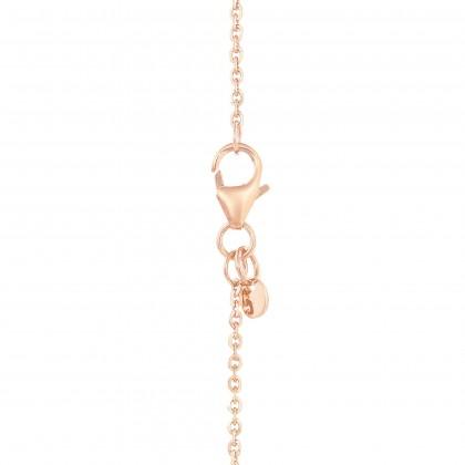 Oro Italia 916 Rose Gold Necklace (5.57G) GC25860321(RW)-BI