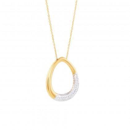 Oro Italia 916 White and Yellow Gold Necklace (7.21G) GC25710221-BI