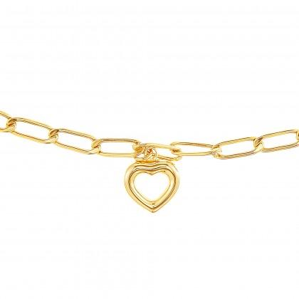 Oro Italia 916 Graffetta Yellow Gold Bracelet (3.37G) GW37690321(BBY)