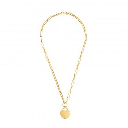 Oro Italia 916 Graffetta Yellow Gold Necklace (16.11G) GC25840321