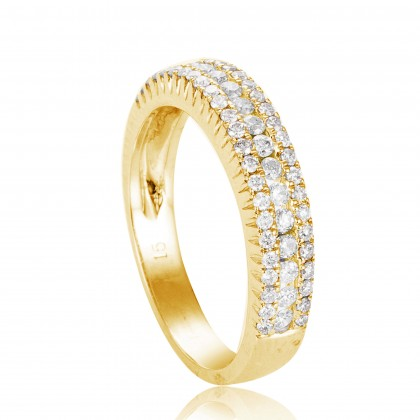 Eternity Diamond Ring in 375/9K Yellow Gold 24502