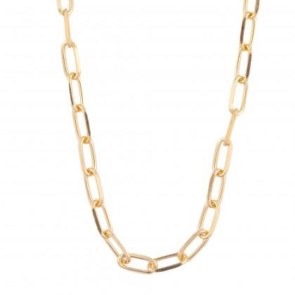 Oro Italia 916 Graffetta Yellow Gold Necklace (35.02G) GC24990220(Y)