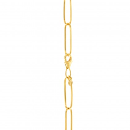 Oro Italia 916 Grafetta Yellow Gold Necklace (26.15G) GC25381220