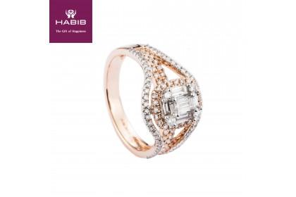 Fire on Ice Marietta Diamond Ring