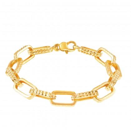Zeeya Yellow Gold, 916 Gold Bracelet (22.35G) B63880121(B-S)