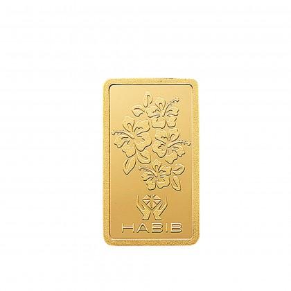 HABIB 1g 999.9 Gold Bar - London Bullion Market Association LBMA Certified Gold Bar