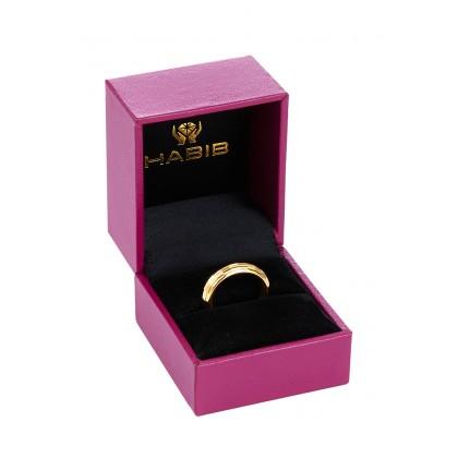 Oro Italia 916 Yellow Gold Ring (3.10G) GR4407