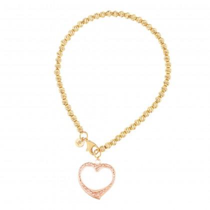 Oro Italia 916 Yellow and Rose Gold Bracelet (6.66G) GW37620321-BI