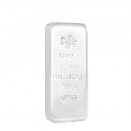 PAMP Suisse 1kg/1000g 999.9 Silver Casting Bar
