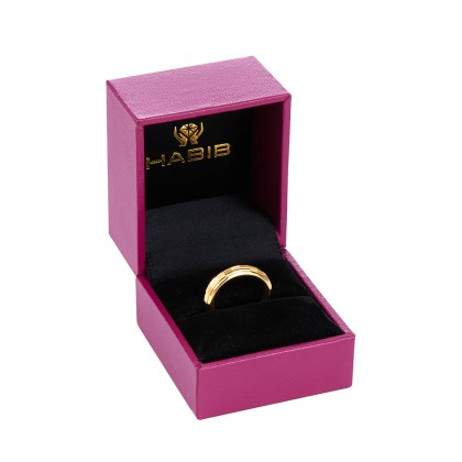 Oro Italia 916 Yellow Gold Ring (3.61G) GR4407