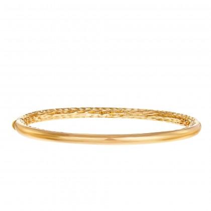Oro Italia 916 Luna Yellow Gold Bangle (14.33G) GB87131220(4Y)