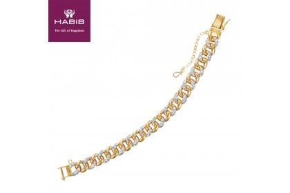 HABIB Brenda Gold Bracelet, 916 Gold (37.95G)