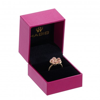 Oro Italia 916 Yellow and Rose Gold Ring (5.59G) GR44210820-BI