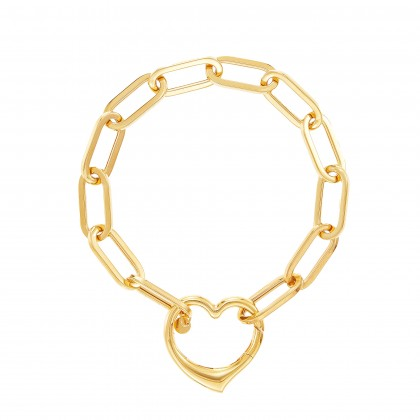 Oro Italia 916 Graffetta Yellow Gold Bracelet (10.88G) GW37570321