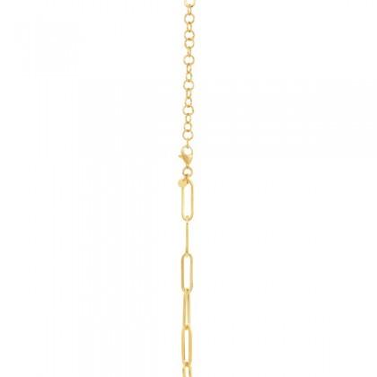 Oro Italia 916 Graffetta Yellow Gold Necklace (11.99G) GC25760321