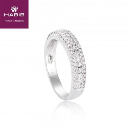 Eternity Diamond Ring in 375/9K White Gold 24502