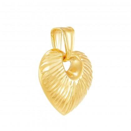 Oro Italia 916 Yellow Gold Pendant (1.39G) GP51250521