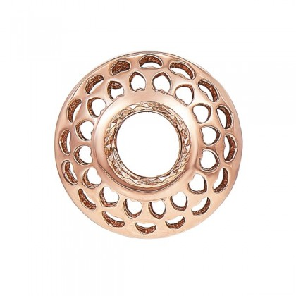 Oro Italia 916 Rose Gold Charm (2.46G) GCM90571020(R)