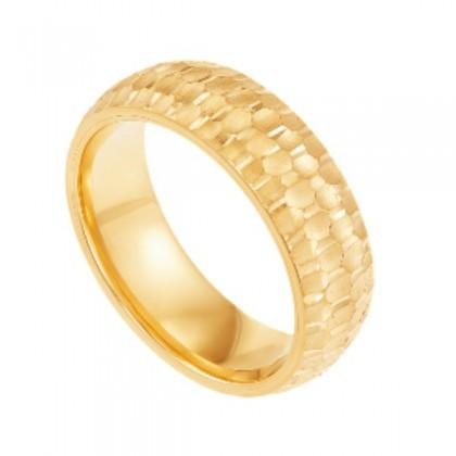 Oro Italia 916 Yellow Gold Ring (4.78G) GR45880421
