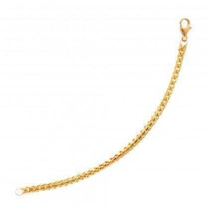Oro Italia 916 Yellow Gold Bracelet (24.57G) GW3300